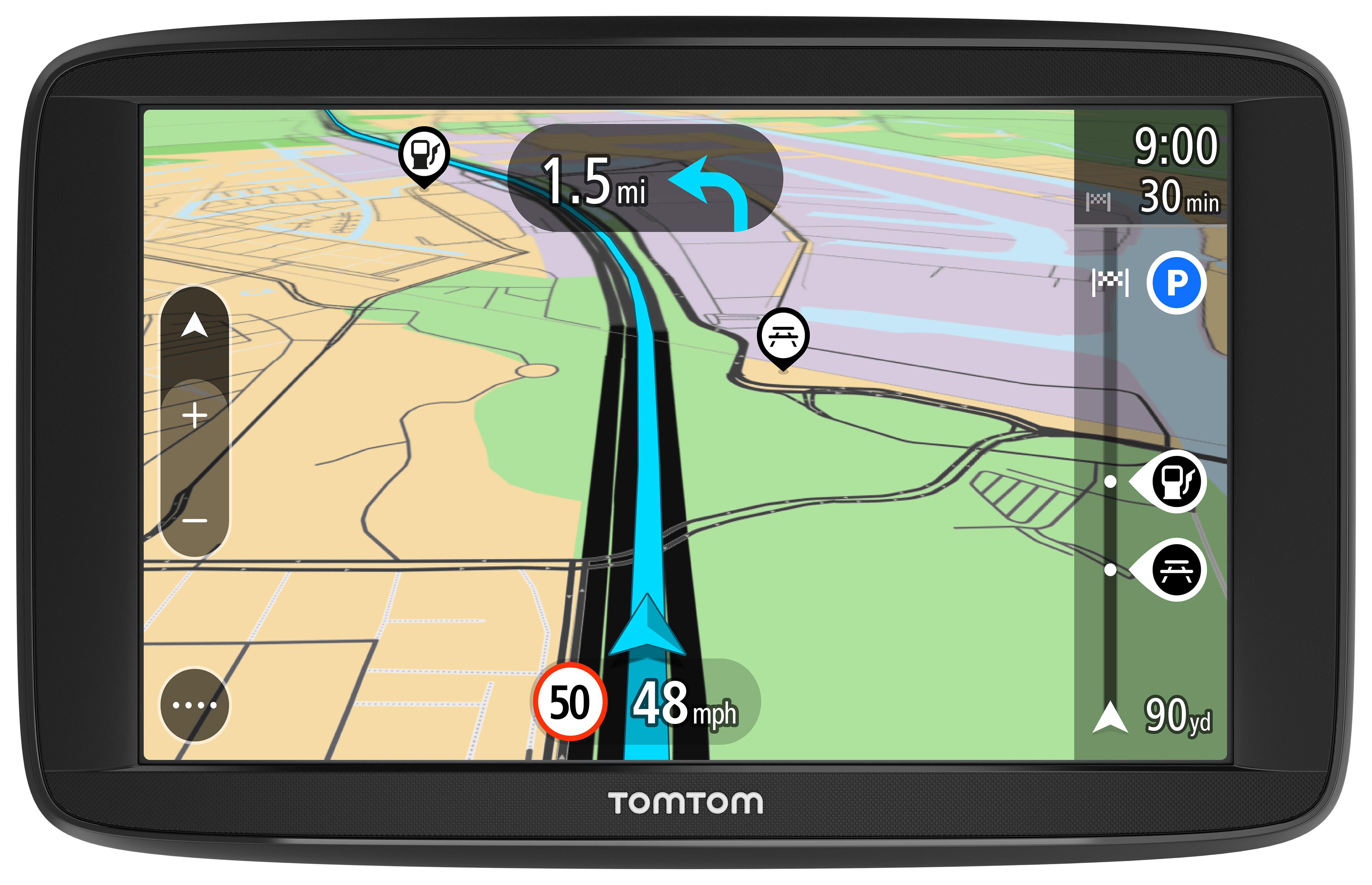 "Tomtom Via 52 5"" GPS SATNAV Bluetooth Free Lifetime UK & Ireland Map 1AP5.013.00"