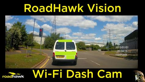 NEW RoadHawk Vision Super HD 1080p Car Dashcam WIFI Witness Accident Camera  Thumbnail 2