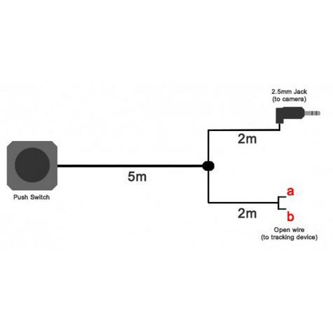 Roadhawk Remote Alarm Dual Cable Plugs DC-2 Alarm +  Manual Push Button R20061 Thumbnail 2
