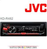 JVC CarStereo 1DIN?Radio?CD?MP3?WMA?FLAC?USB?AUX?Android Music?Red illumination