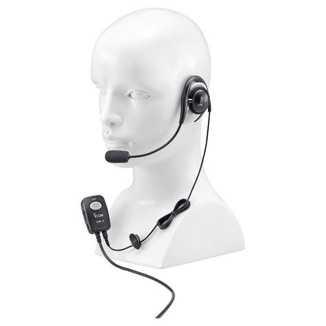 Icom HS-94 Headset (ear piece type) - use with OPC-1392 for M71 /M73 / GM1600 Thumbnail 2