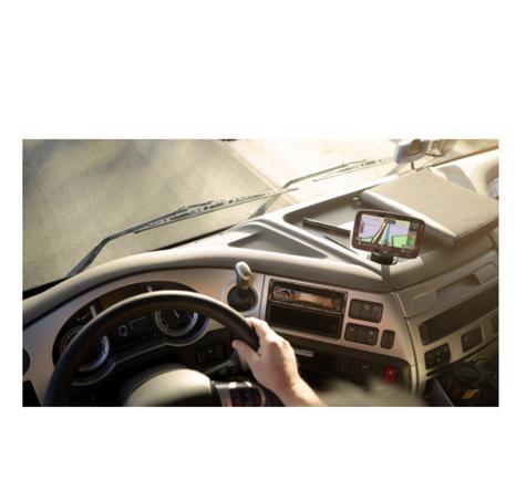 TomTom GO PRO 6200 EU Trucker GPS SatNav Truck Fleet Coach Van Free Lifetime Map Thumbnail 7
