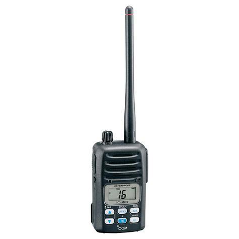 Icom IC-M87 Compact Waterproof Handheld Marine VHF / PMR Thumbnail 1