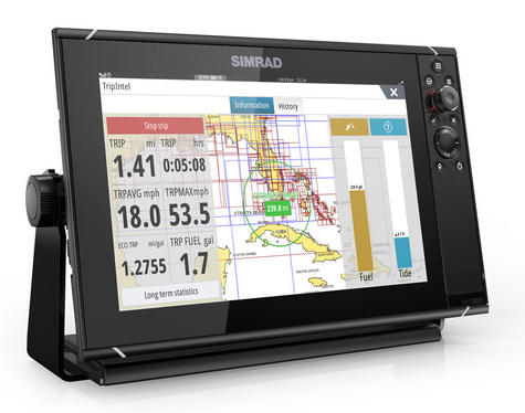 Simrad NSS12 evo3 Combo MFD c/w GPS Sounder Wi-Fi & HDMI out - World Base Map Thumbnail 3
