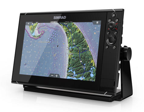 Simrad NSS12 evo3 Combo MFD c/w GPS Sounder Wi-Fi & HDMI out - World Base Map Thumbnail 4