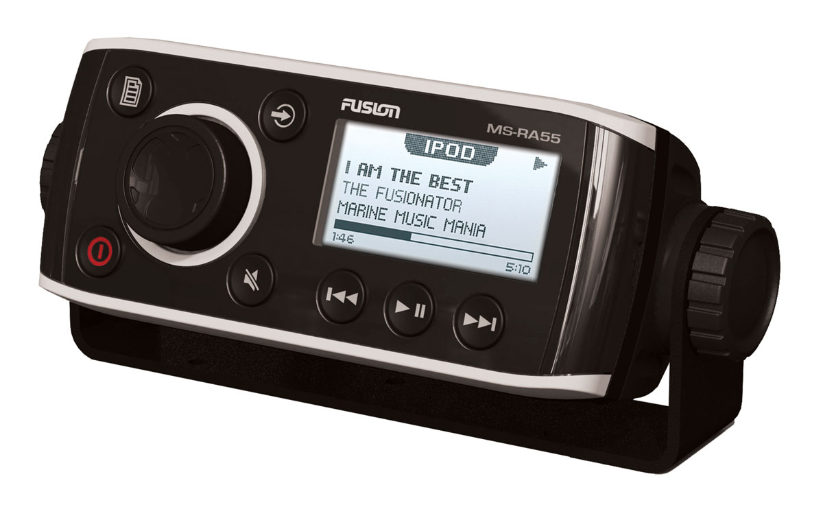Fusion RA 55 Series Most Compact AM/FM Radio Receiver c/w Bluetooth - 4 Channel