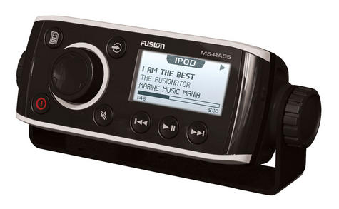 Fusion RA 55 Series Most Compact AM/FM Radio Receiver c/w Bluetooth - 4 Channel Thumbnail 1