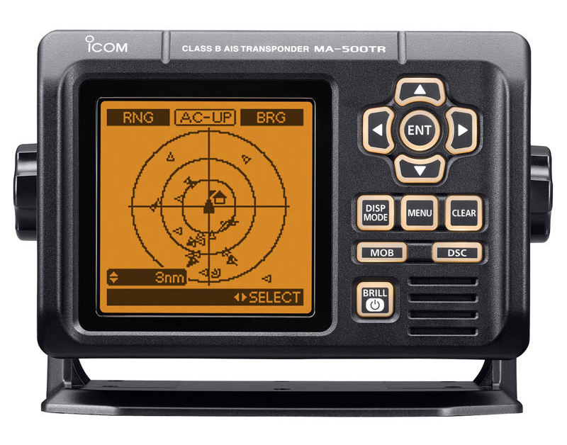 Icom IC-M506 VHF/DSC Marine Transceiver with NMEA 2000 Connectivity AIS Receiver