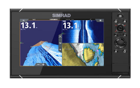 Simrad NSS9 evo3 Combo Mutli-function Display GPS Sounder & Wi-Fi WORLD BASE MAP Thumbnail 2