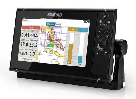 Simrad NSS9 evo3 Combo Mutli-function Display GPS Sounder & Wi-Fi WORLD BASE MAP Thumbnail 4