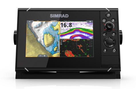 Simrad NSS7 evo3 Combo Mutli-function Display GPS Sounder & Wi-Fi WORLD BASE MAP Thumbnail 2
