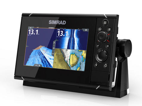 Simrad NSS7 evo3 Combo Mutli-function Display GPS Sounder & Wi-Fi WORLD BASE MAP Thumbnail 3