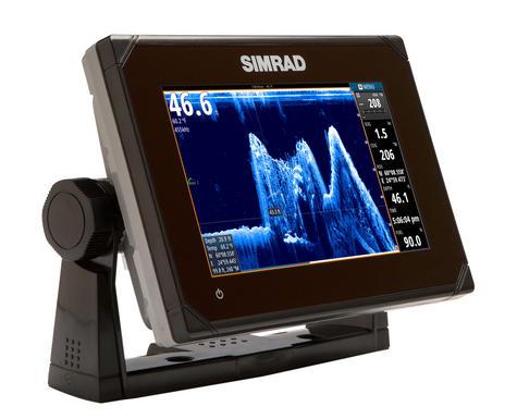 Simrad GO7 Multi Touch Chartplotter XSE Med / Hi / Downscan - No Charts c/w Txd Thumbnail 2