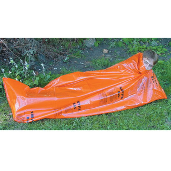 Highlander Emergency Survival Bag Orange