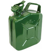 Highlander Steel Jerry Can 5L Green