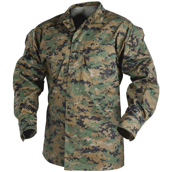 Helikon USMC Shirt Polycotton Twill Digital Woodland