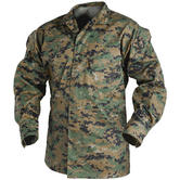 Helikon USMC Shirt Polycotton Twill Digital Woodland