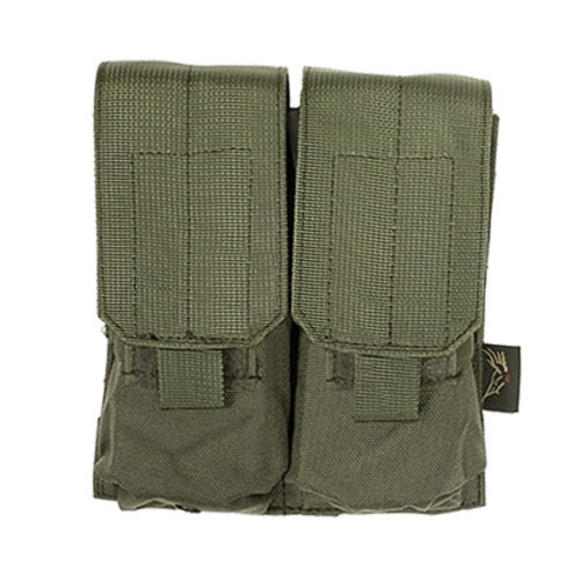 Flyye Double M4/M16 Magazine Pouch MOLLE Ranger Green