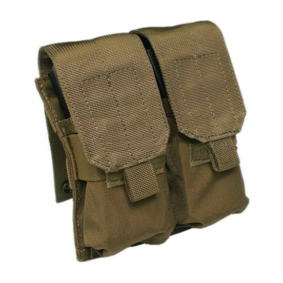 Flyye Double M4/M16 Magazine Pouch MOLLE Coyote Brown