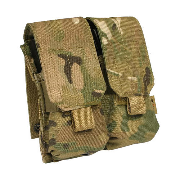 Flyye Double M4/M16 Magazine Pouch MOLLE MultiCam