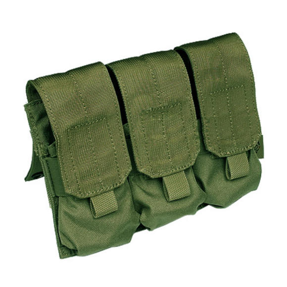 Flyye Triple M4/M16 Magazine Pouch MOLLE Olive Drab