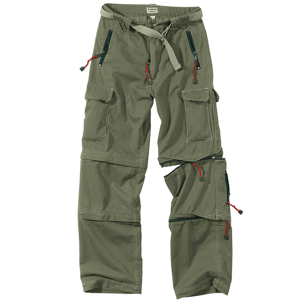 Surplus Trekking Zip-Off Combat Mens Trousers Fishing Hiking 3 in ...
