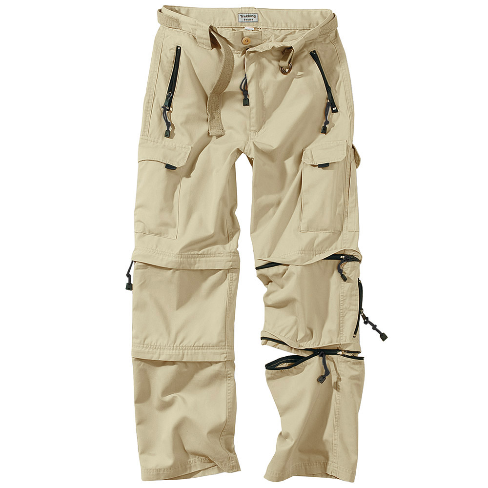 Surplus Zip-Off Cargo Hiking Mens Combat Trousers Army 3 in 1 ...
