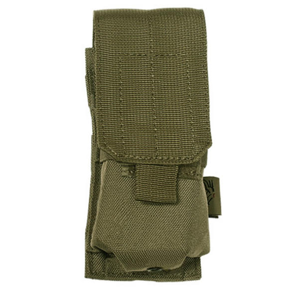 Flyye Single M4/M16 Magazine Pouch MOLLE Ranger Green