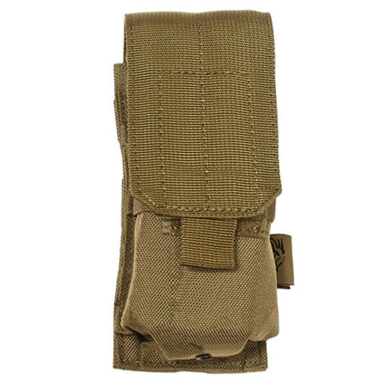 Flyye Single M4/M16 Magazine Pouch MOLLE Coyote Brown