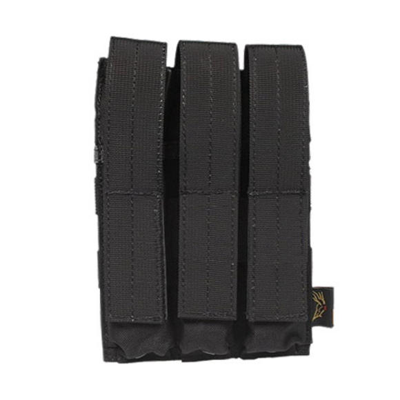 Flyye Triple MP5 Magazine Pouch MOLLE Black