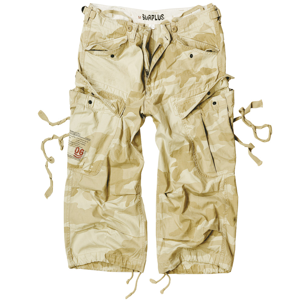Surplus US Military Engineer 3/4 Mens Long Shorts Combat Cargo ...