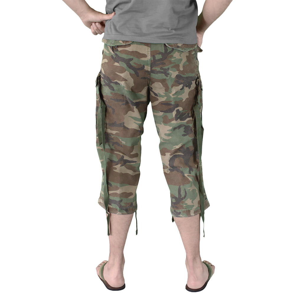 Engineer Vintage 3/4 Mens Cargo Long Combat Surplus Shorts ...