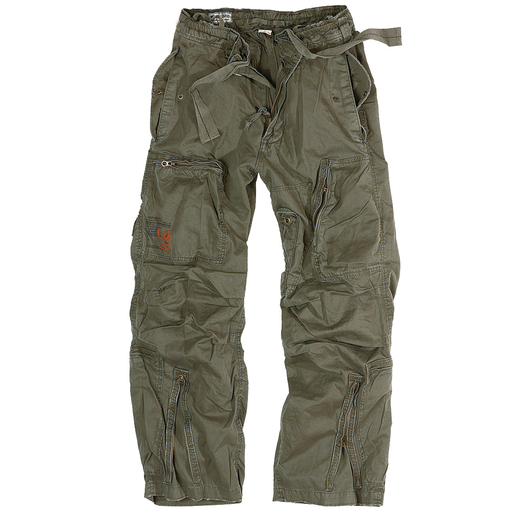 SURPLUS INFANTRY TROUSERS MENS COMBATS MILITARY STYLE CARGO PANTS OLIVE OD S-XXL