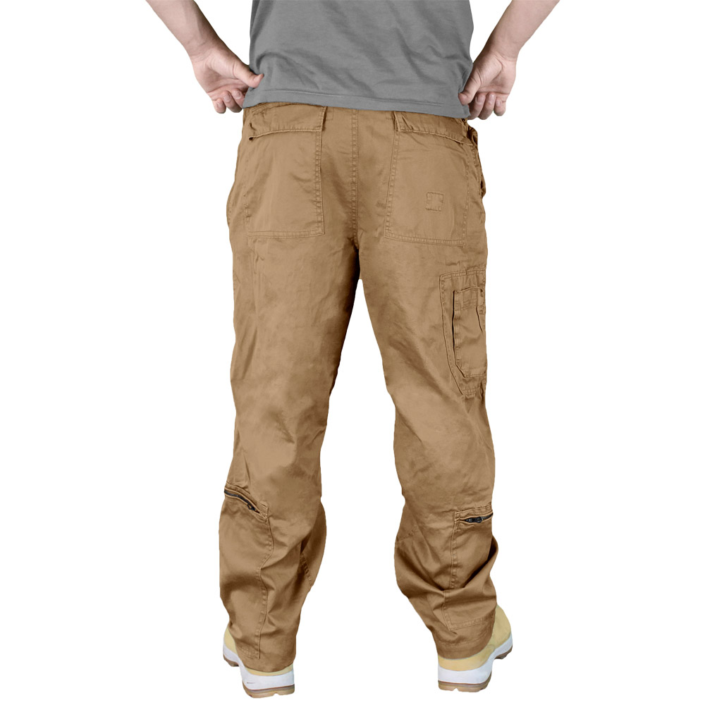 Surplus Infantry Trousers Combat Pants Mens Cargos Baggy ...