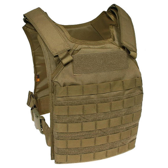 Flyye Fast Attack Plate Carrier GEN 1 MOLLE Coyote Brown