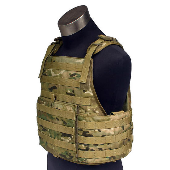 Flyye MOLLE Style PC Plate Carrier MultiCam