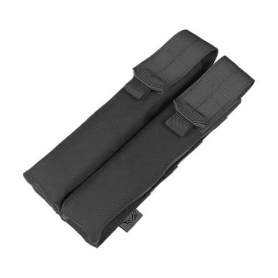 Flyye Double P90/UMP Magazine Pouch MOLLE Black