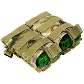Flyye EV Universal Double Magazine Pouch MOLLE MultiCam