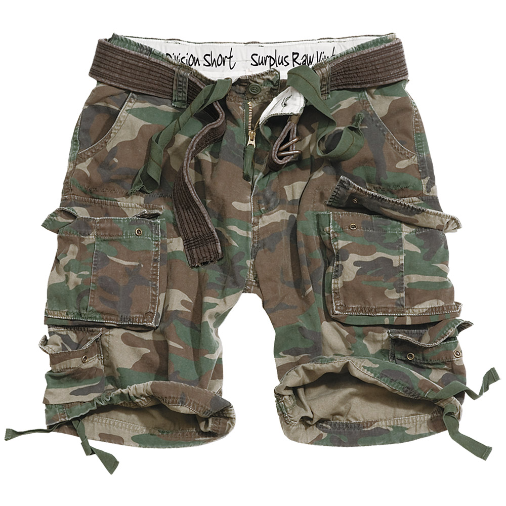 Camo Cargo Shorts Style