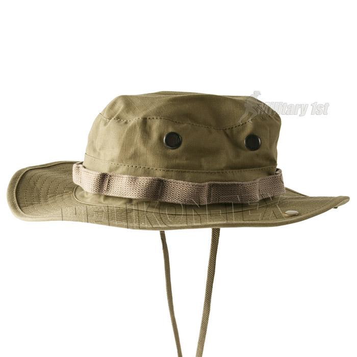 Helikon army style gi boonie bush jungle sun hat hiking for Fishing boonie hat