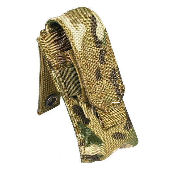 Flyye Single 9mm Magazine Pouch Ver. FE MOLLE MultiCam