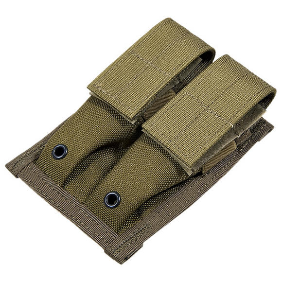 Flyye Double 9mm Magazine Pouch MOLLE Coyote Brown
