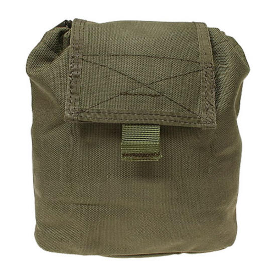 Flyye Folding Magazine Drop Pouch MOLLE Ranger Green