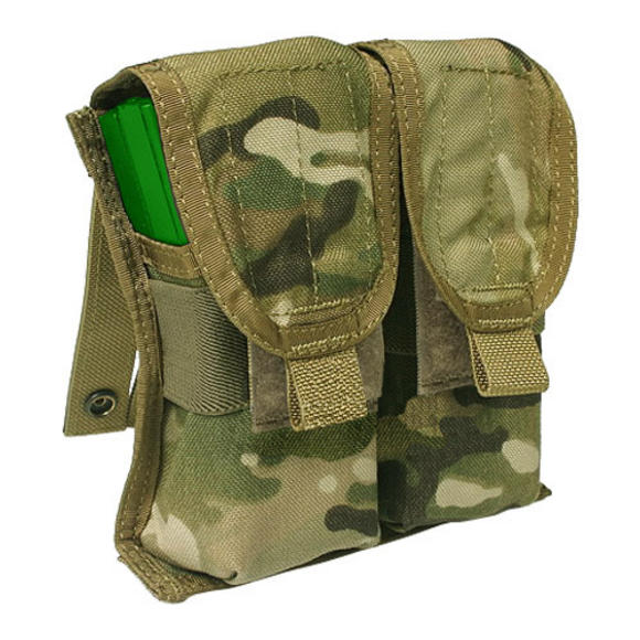 Flyye Double M4/M16 Magazine Pouch Ver. FE MOLLE MultiCam