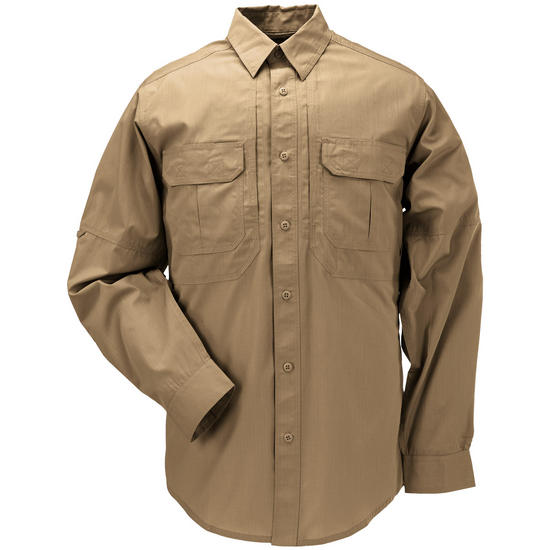 5.11 Taclite Pro Shirt Long Sleeve Coyote Brown