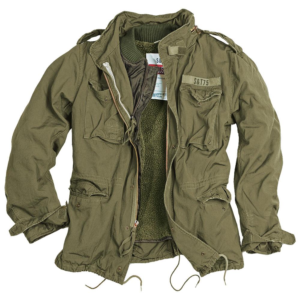 Surplus Vintage Style M65 Regiment Military Mens Warm Jacket Liner Olive S 5xl Ebay
