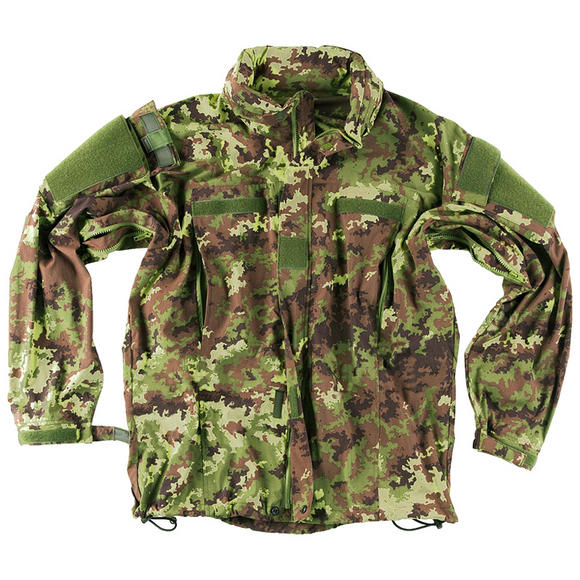 Helikon Soft Shell Jacket Vegetato Woodland