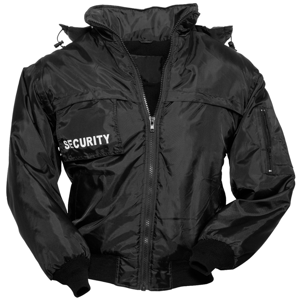 SURPLUS TACTICAL SECURITY VEST MENS HOODED JACKET GILET with