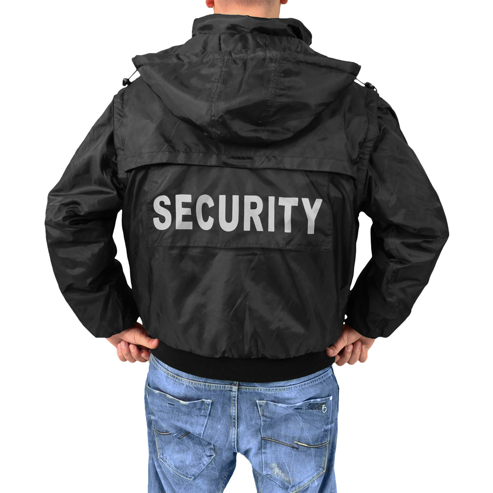 SurplUS Tactical Security Vest Mens Hooded Jacket Gilet with ...