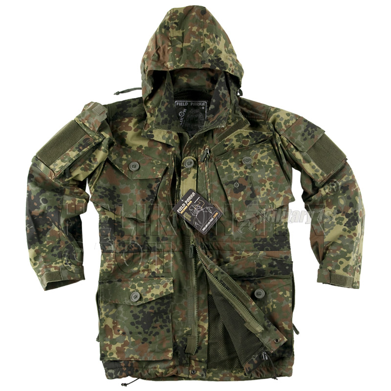 HELIKON MILITARY FIELD PARKA ARMY JACKET MENS SMOCK RIPSTOP ...